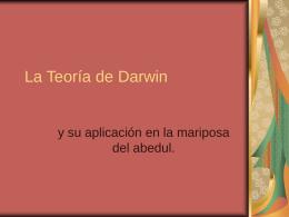 La Teoría de Darwin y Mariposa del abedul