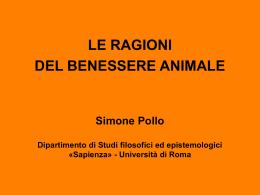 Simone Pollo Dipartimento di Studi filosofici ed epistemologici