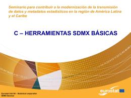 Herramientas básicas SDMX