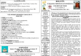 10 Febrero 2013 - Iglesia Cristiana Evangélica de Colmenar Viejo