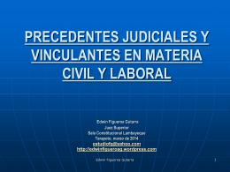 CORTE SAN MARTIN PRECEDENTES JUDICIALES Y