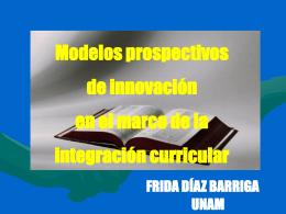 Modelos de Innovación e Integración Curricular en Venezuela