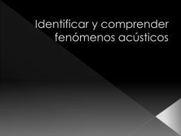 fenomenos acusticos