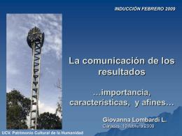 Diapositiva 1 - Facultad de Ciencias-UCV