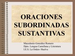 oraciones subordinadas sustantivas - Cursos-a-impartir-samr