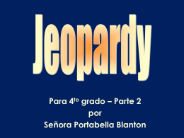 Jeopardy Gr4