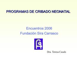 Presentación de PowerPoint - Fundación `Sira Carrasco`