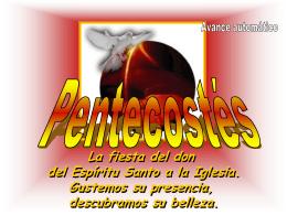 Meditacion para Pentecostés