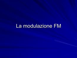La modulazione FM (Powerpoint)