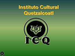 atlantida - Instituto Cultural Quetzalcoatl