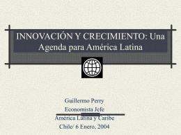 Presentación Sr. Guillermo Perry