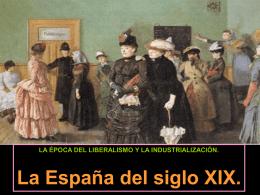7. La España del siglo XIX