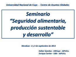 CPN Esther Sánchez (UNCUYO) y CPN Enrique Cartier (UBA).