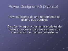 Power Designer 9.5 - BasedeDatos-LSI-LCC
