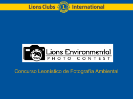 PowerPoint Presentation - Lions Clubs International