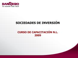 sociedades de inversión