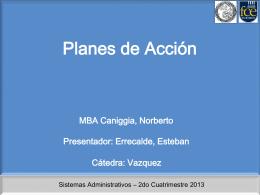 Clase 3 - Plan de acción