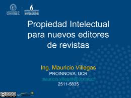Propiedad Intelectual para nuevos editores