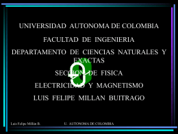 i ^ j - Universidad Autónoma de Colombia
