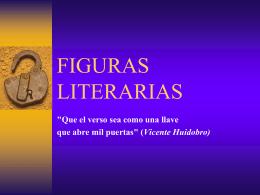 Figuras literariasPPT