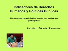 Indicadores de Derechos Humanos y Políticas Públicas