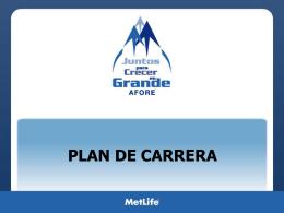ejemplos plan de carrera