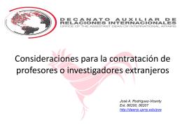 Presentación: Seminario de Evaluación del Personal Docente