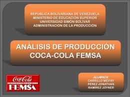 Sector al que pertenece: Coca-Cola FEMSA - ADM-DE-LA