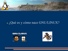 ¿Que es y como nace GNU/LINUX? - Jacquelinux