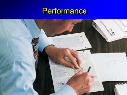 Performance - PERFORMANCEPELIKAN