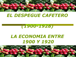 el despegue cafetero