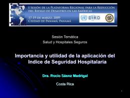 Hospitales Seguros al 2015