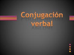Conjugación Verbal