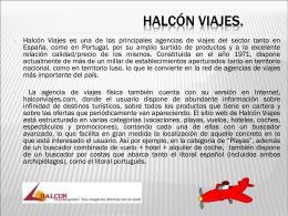 HALCON VIAJES-NORIS