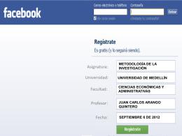 Facebook - UVirtual - Universidad de Medellín