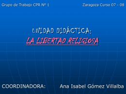 Libertad religiosa ppt deezaragoza