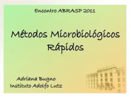 Métodos Microbiológicos Rápidos - Adriana Bugno