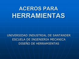 ACEROS_HERRAMIENTAS - Universidad Industrial de Santander