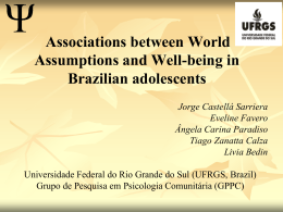Associations between World Assumptions and Well