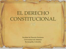 ¿Qué es derecho constitucional?