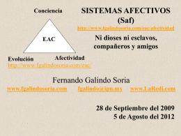Sistemas Afectivos - Fernando Galindo Soria