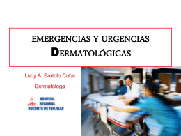 5. Emergencias Dermatológicas
