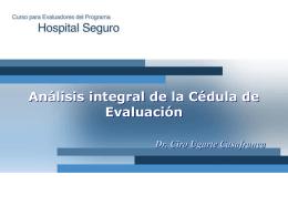 Análisis integral de la Cédula de Evaluación