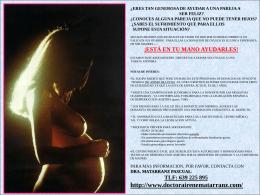 Donación de ovulos - doctora irene matarranz