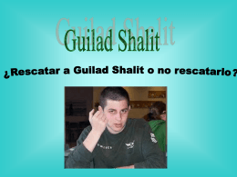 3. Anexo Materiales 1 - PPT Dilema Gilad Shalit