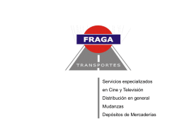 Diapositiva 1 - Transportes Fraga