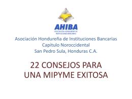 AHIBA Asociación Hondureña de Instituciones Bancarias