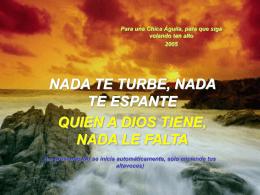 Nada te turbe - Salesianos Las Palmas