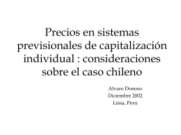 diferencia en precios - (FIAP) Federación Internacional de