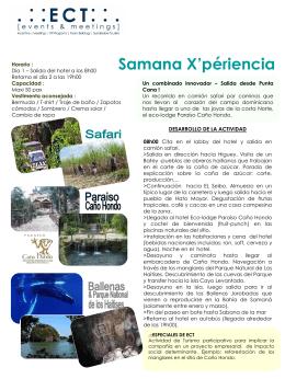 Samana X`perience
